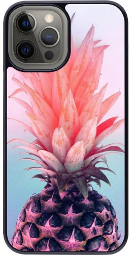 Coque iPhone 12 Pro Max - Purple Pink Pineapple