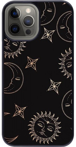 Coque iPhone 12 Pro Max - Suns and Moons