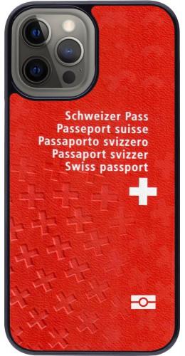 Coque iPhone 12 Pro Max - Swiss Passport
