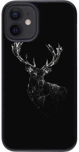Coque iPhone 12 mini - Abstract deer