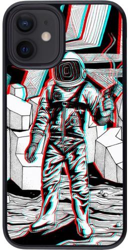 Coque iPhone 12 mini - Anaglyph Astronaut