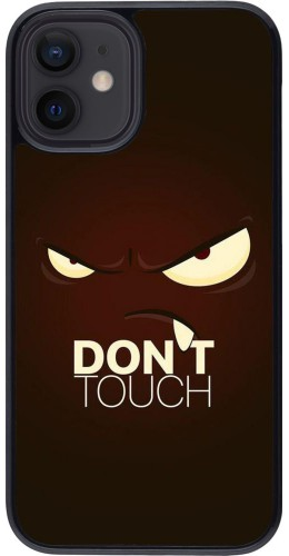 Coque iPhone 12 mini - Angry Dont Touch