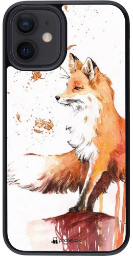 Coque iPhone 12 mini - Autumn 21 Fox