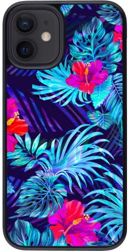 Coque iPhone 12 mini - Blue Forest