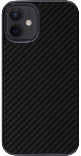 Coque iPhone 12 mini - Carbon Basic