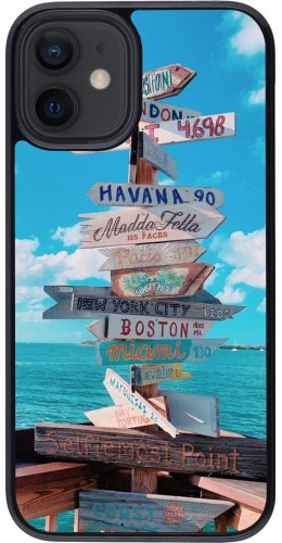 Coque iPhone 12 mini - Cool Cities Directions