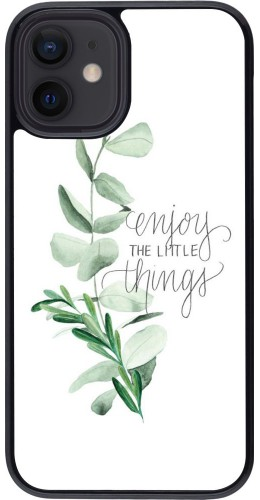 Coque iPhone 12 mini - Enjoy the little things