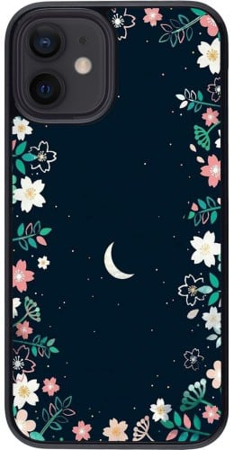 Coque iPhone 12 mini - Flowers space