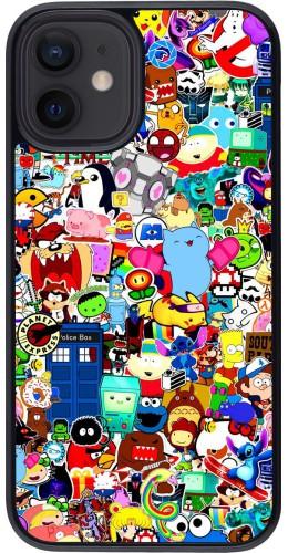 Coque iPhone 12 mini - Mixed cartoons