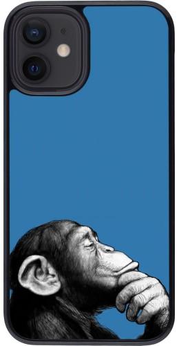 Coque iPhone 12 mini - Monkey Pop Art