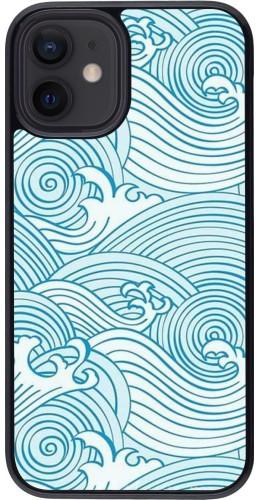 Coque iPhone 12 mini - Ocean Waves