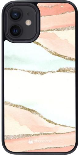 Coque iPhone 12 mini - Shimmering Orange