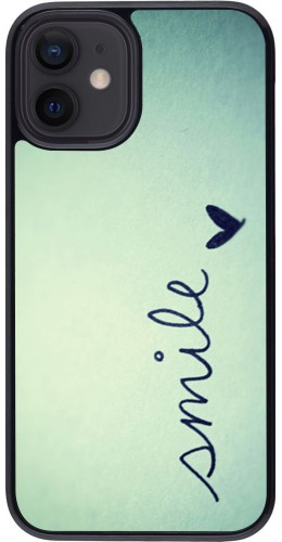 Coque iPhone 12 mini - Smile
