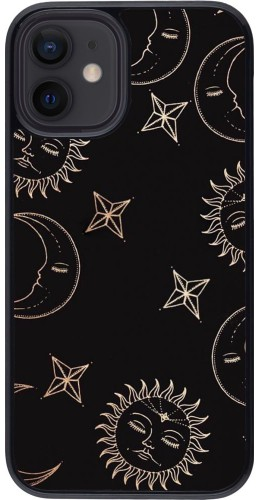 Coque iPhone 12 mini - Suns and Moons