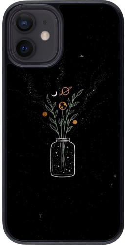 Coque iPhone 12 mini - Vase black