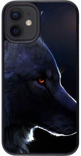 Coque iPhone 12 mini - Wolf Shape