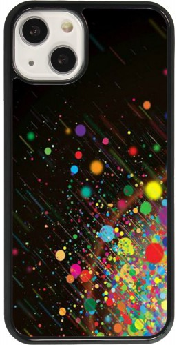 Coque iPhone 13 - Abstract Bubble Lines