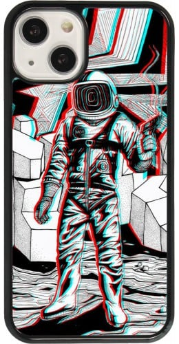 Coque iPhone 13 - Anaglyph Astronaut