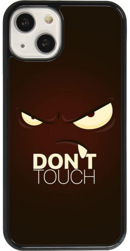 Coque iPhone 13 - Angry Dont Touch