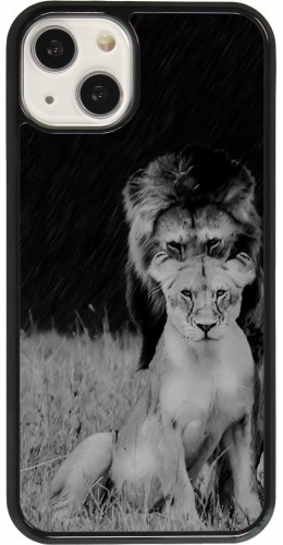 Coque iPhone 13 - Angry lions