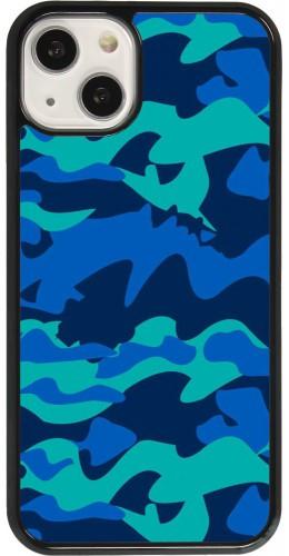 Coque iPhone 13 - Camo Blue