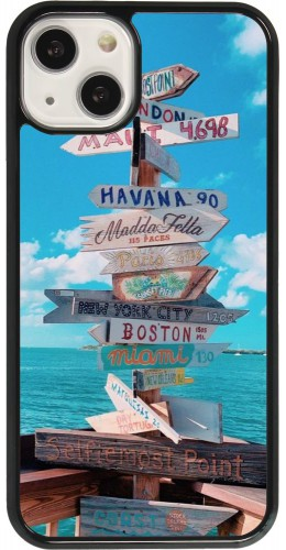 Coque iPhone 13 - Cool Cities Directions