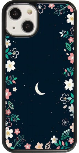 Coque iPhone 13 - Flowers space