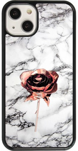 Coque iPhone 13 - Marble Rose Gold