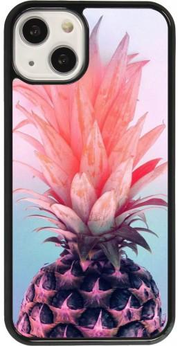 Coque iPhone 13 - Purple Pink Pineapple