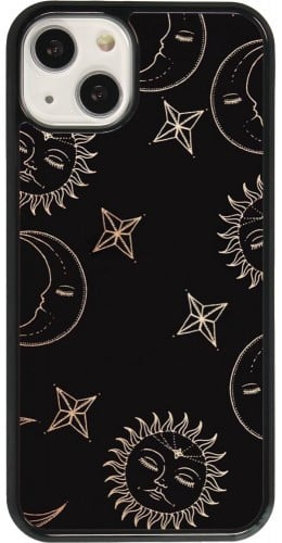 Coque iPhone 13 - Suns and Moons