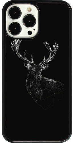 Coque iPhone 13 Pro Max - Abstract deer