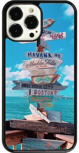 Coque iPhone 13 Pro Max - Cool Cities Directions