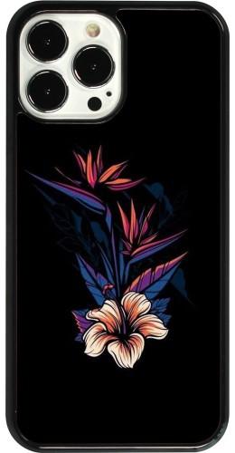 Coque iPhone 13 Pro Max - Dark Flowers