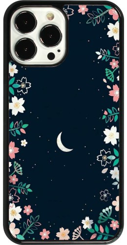 Coque iPhone 13 Pro Max - Flowers space