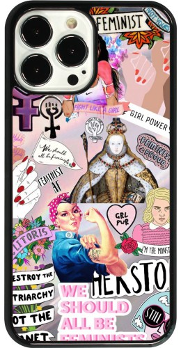 Coque iPhone 13 Pro Max - Girl Power Collage