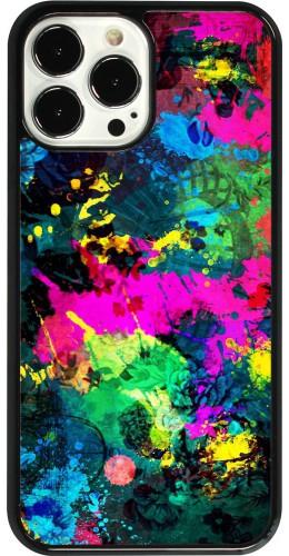 Coque iPhone 13 Pro Max - Splash paint