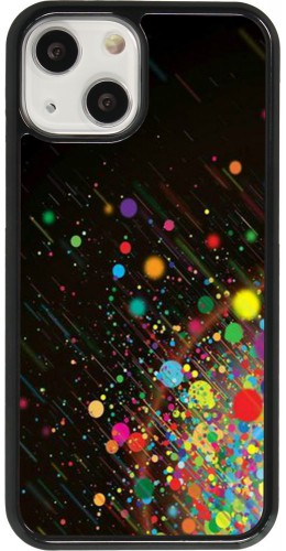 Coque iPhone 13 mini - Abstract Bubble Lines