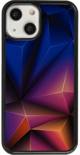 Coque iPhone 13 mini - Abstract Triangles
