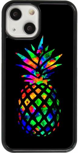 Coque iPhone 13 mini - Ananas Multi-colors