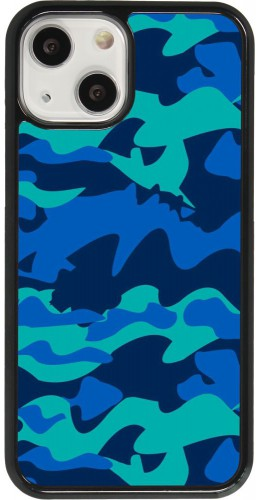 Coque iPhone 13 mini - Camo Blue
