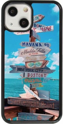 Coque iPhone 13 mini - Cool Cities Directions