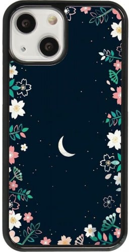 Coque iPhone 13 mini - Flowers space