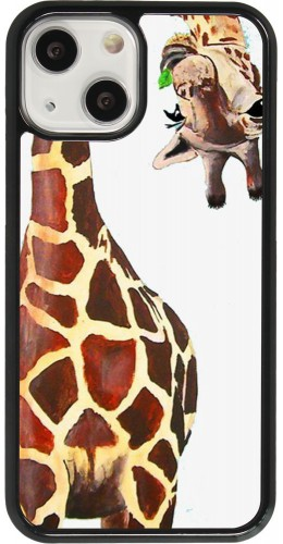 Coque iPhone 13 mini - Giraffe Fit