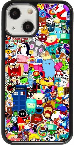 Coque iPhone 13 mini - Mixed cartoons