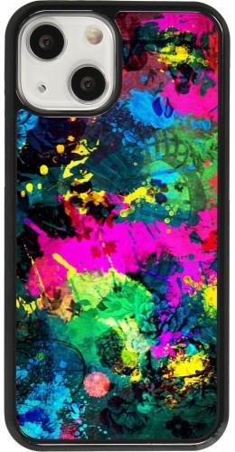 Coque iPhone 13 mini - Splash paint