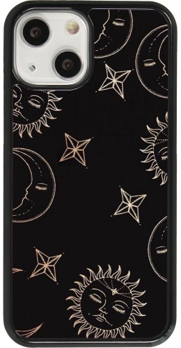 Coque iPhone 13 mini - Suns and Moons