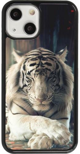 Coque iPhone 13 mini - Zen Tiger