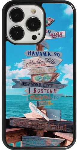 Coque iPhone 13 Pro - Cool Cities Directions