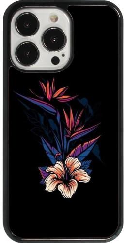 Coque iPhone 13 Pro - Dark Flowers