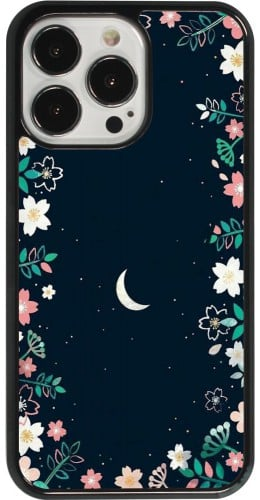 Coque iPhone 13 Pro - Flowers space